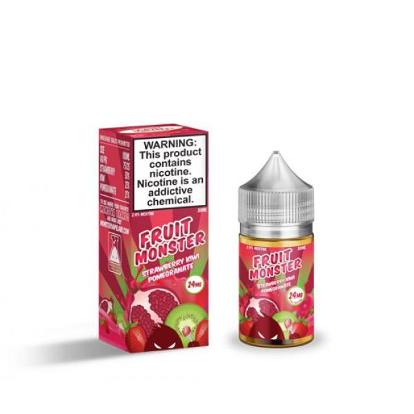 Strawberry Kiwi Pomegranate by Fruit Monster Salt Nic 30mL
