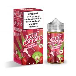 Strawberry Kiwi Pomegranate By Fruit Monster Jam Monster 100mL