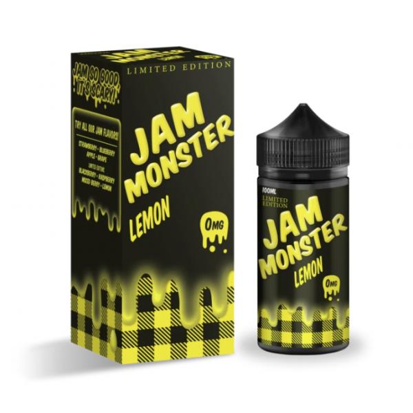 Jam Monster eJuice Lemon 100mL