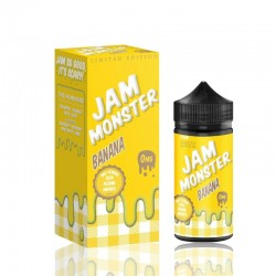 Jam Monster eJuice Banana 100mL
