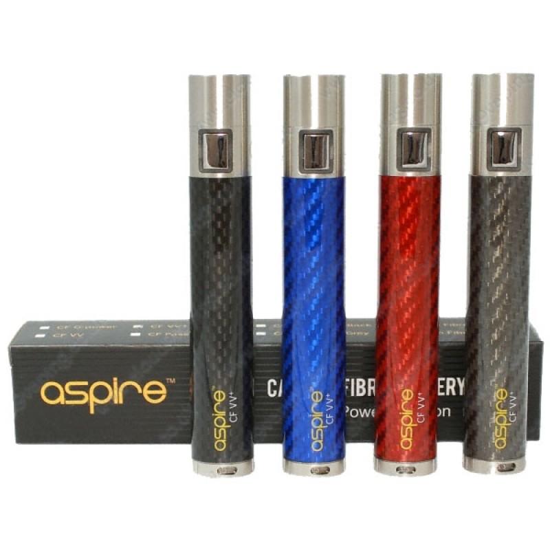 Aspire CF-G Carbon Fiber Battery, 1600 Mah | Carbon fiber