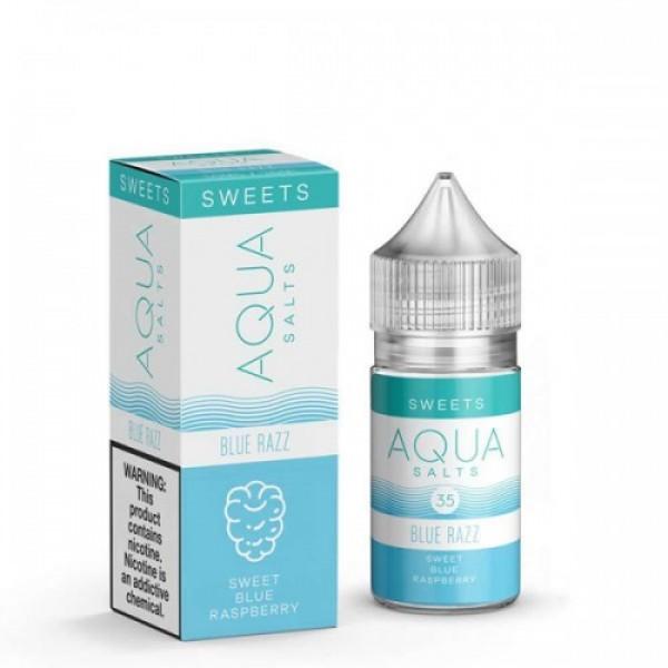 Blue Razz Salts by Aqua Salts 30ml