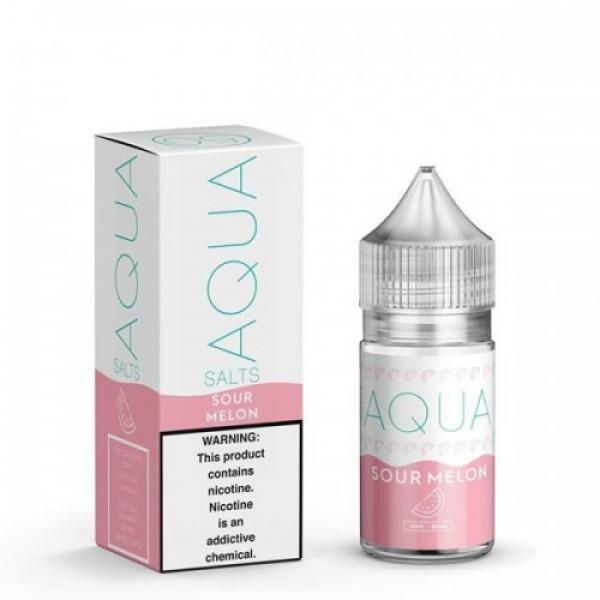 Sour Melon Salt by Aqua Salts 30ml