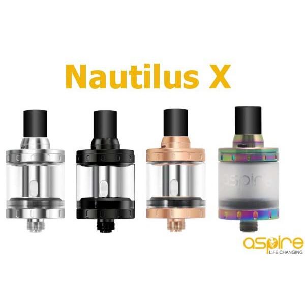 ASPIRE NAUTILUS X TANK TOP AIRFLOW