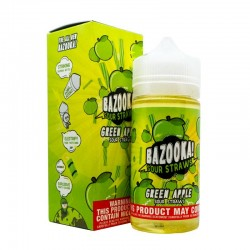 Apple Sour Straws by Bazooka Sour Straws 100ml