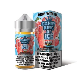 Strawberry Rolls ICE by Candy King On ICE 100ml