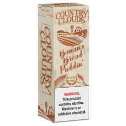 Country Clouds E-liquid Banana Bread Puddin' 100ml