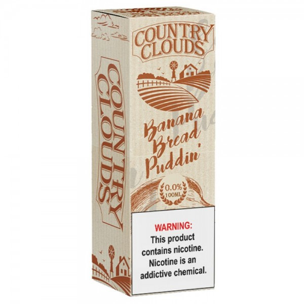 Country Clouds E-liquid Banana Bread Puddin' 100ml