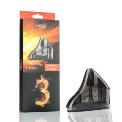HQD Comma Replacement Pod 3-Pack