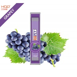 HQD STARK DISPOSABLE POD DEVICE - GRAPE - BOX OF 12