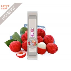 HQD STARK DISPOSABLE POD DEVICE - LYCHEE ICE - BOX OF 12