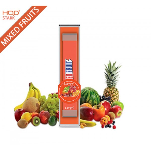 HQD STARK DISPOSABLE POD DEVICE - MIXED FRUIT - BOX OF 12