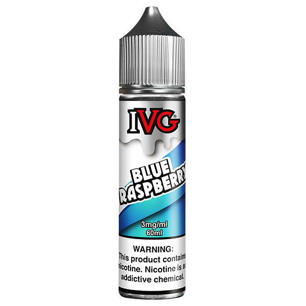 IVG Blue Raspberry Eliquid 60ml PMTA