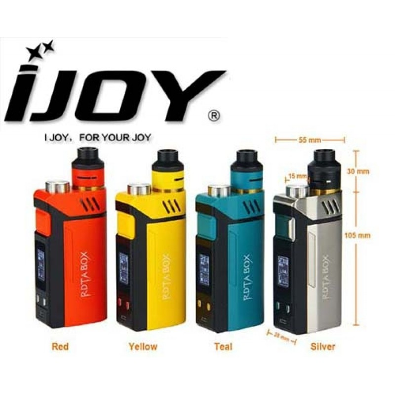RDTA Box All-in-One 200W Full Kit BY IJoy - VaporBlade