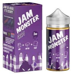 Jam Monster eJuice Grape100mL+ COTTON BACON BITS