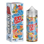 Keep It 100 E-Juice Blue Slushie Tropical 100mL