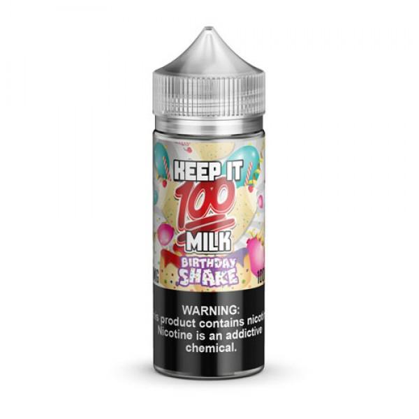 Keep It 100 E-Juice Birthday Shake
