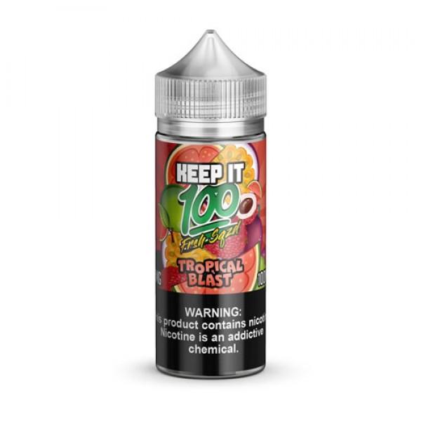 Keep It 100 E-Juice Tropical Blast