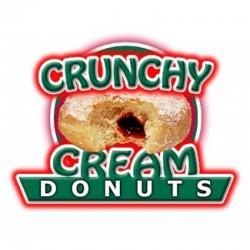 Crunchy Cream Donut