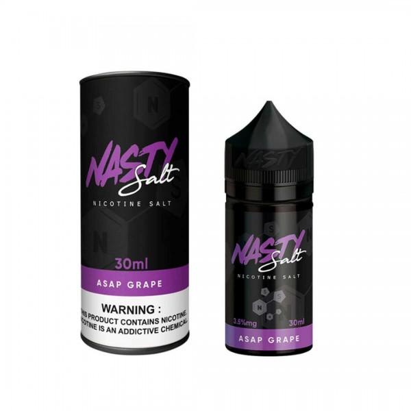 A.S.A.P Grape Salt Nic by Nasty 30mL NEW BOTTLE