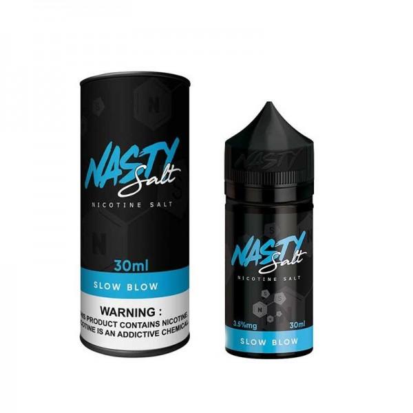 Slow Blow Nasty Salt Nic 30mL New Bottle