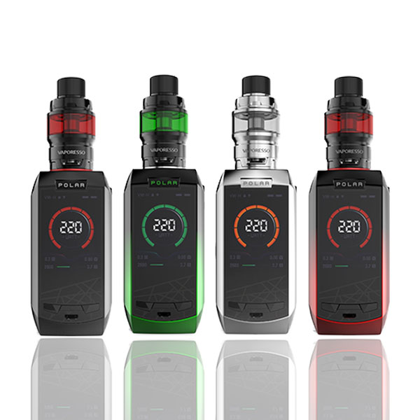 Vaporesso Polar 220W With Cascade Baby SE Starter Kit