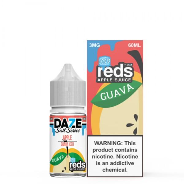 Reds Salt Nic - Guava On Ice Salt by 7 Daze 30ml