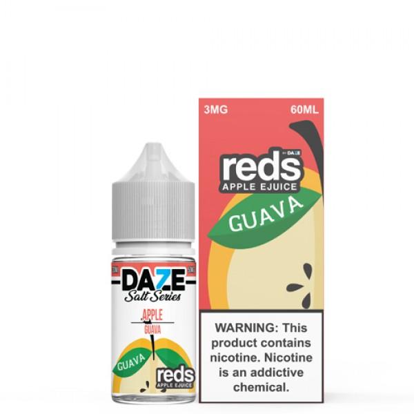 Reds Salt Nic - Guava Salt by 7 Daze 30ml