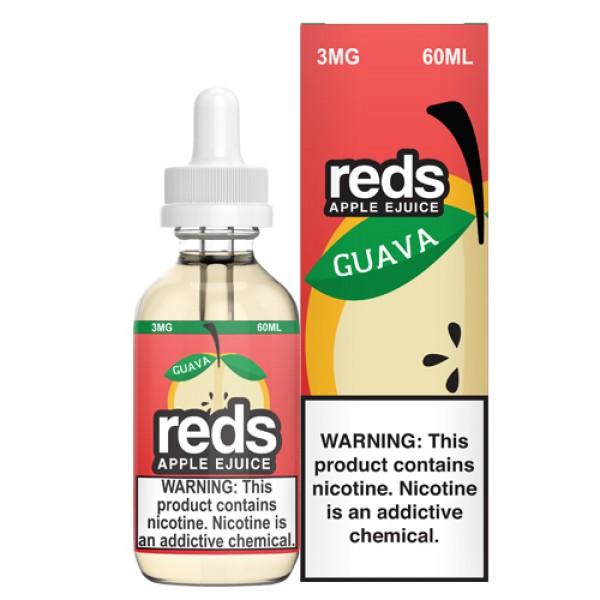 Reds E-Juice - Guava by 7 Daze