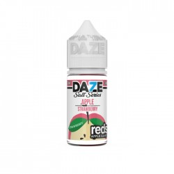 Reds Salt Nic - Strawberry Salt By 7 Daze 30ml