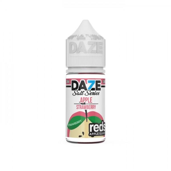 Reds Salt Nic - Strawberry Salt By 7 Daze 30ml