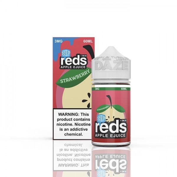 Reds E-Juice - Strawberry Ice By 7 Daze 60ml