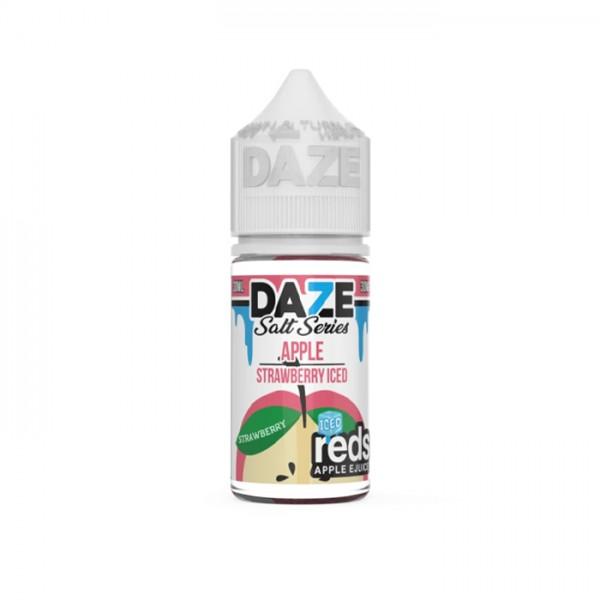 Reds Salt Nic - Strawberry Ice By 7 Daze 30ml
