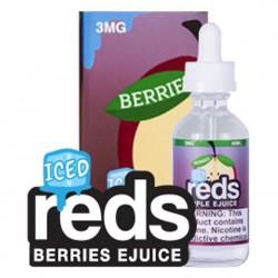 VAPE 7 DAZE Reds berries ice E Liquid 60mL