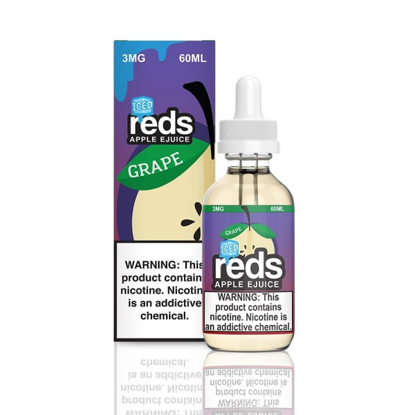 Reds E-Juice - Berries Ice By 7 Daze
