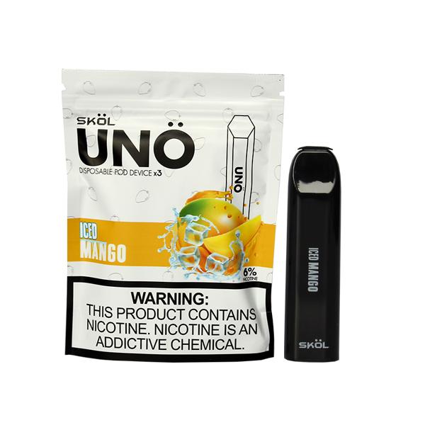 Skol Uno Disposable Kit - Mango Ice