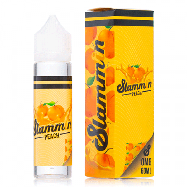 SLAMMIN E-LIQUID SLAMMIN PEACH 60ML