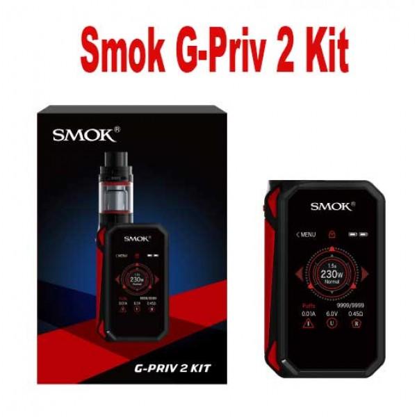 SMOK G-PRIV 2 230W Touch Screen Full KIt W/ Tfv8 X Baby