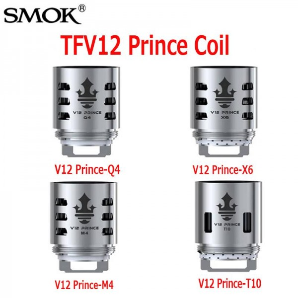 SMOK TFV12 Prince Coil Head Replacement 3 Pack