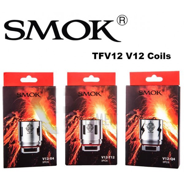Smok TFV12 V12 Replacement Coils 3 Pack IN STOCK