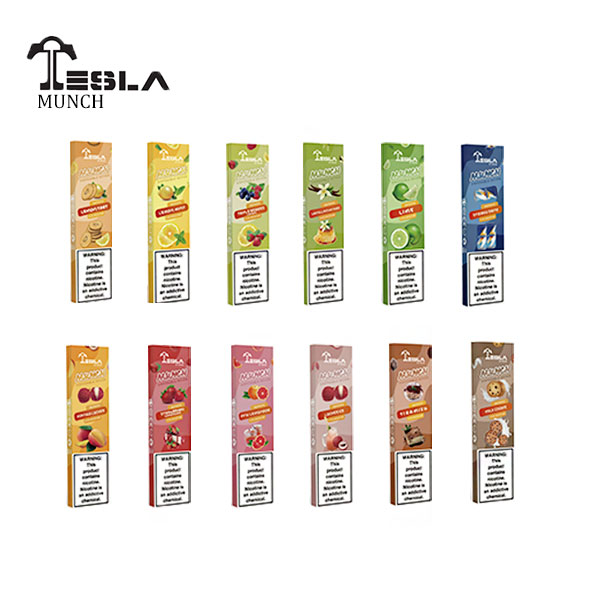 Munch Disposables by Tesla Cigs Device - BOX OF 10