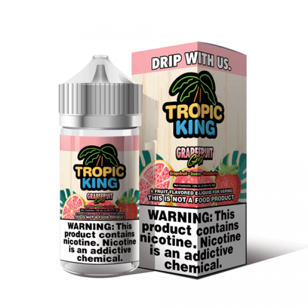 Grapefruit Gust by Tropical King Ejuice 100ml