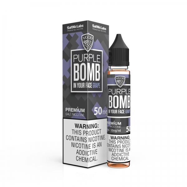 Purple Bomb by VGOD Salt Nic 30ML