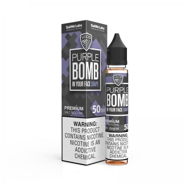 Purple Bomb ICE by VGOD Salt Nic 30ML