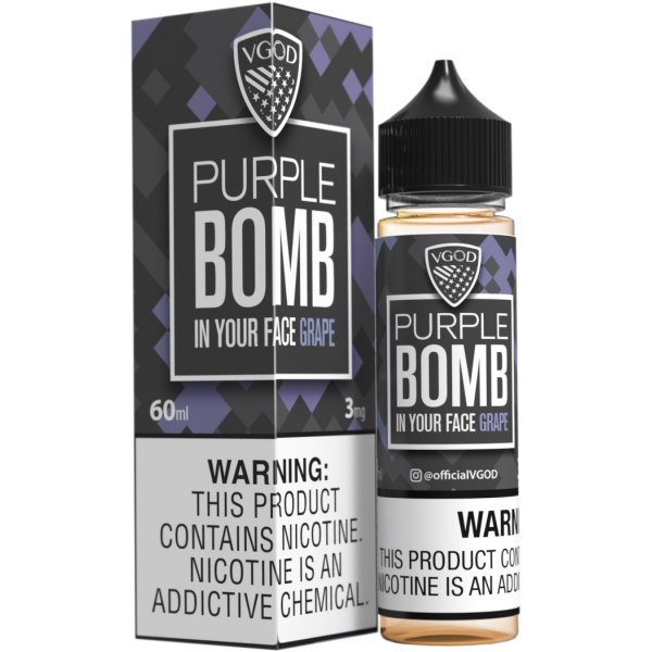 Purple Bomb by VGOD 60ML