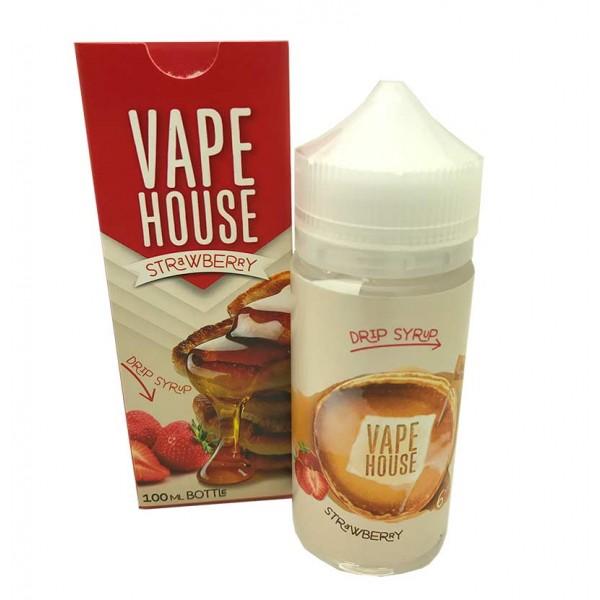 Vape House Strawberry Pancake 100mL
