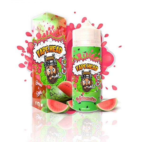 VapeHead Wutamelon sweet and sour 120mL