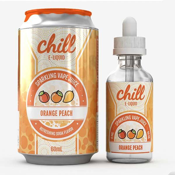 Orange Peach Chill E-Liquids 60 mL Buy Naked100