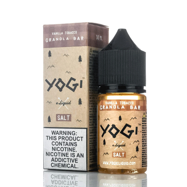 Yogi E-liquid  Vanilla Tobacco Salt Nic 30mL