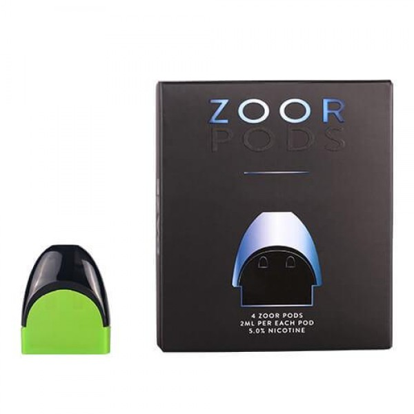 7Daze Zoor Salt Nic Pods Apple 4-Pack
